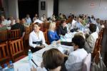 Spotkanie z organizacjami pozarządowymi, Ostrów Wielkopolski dn. 21 września 2009r